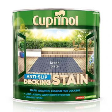 Cuprinol 2.5L Urban Slate decking stain